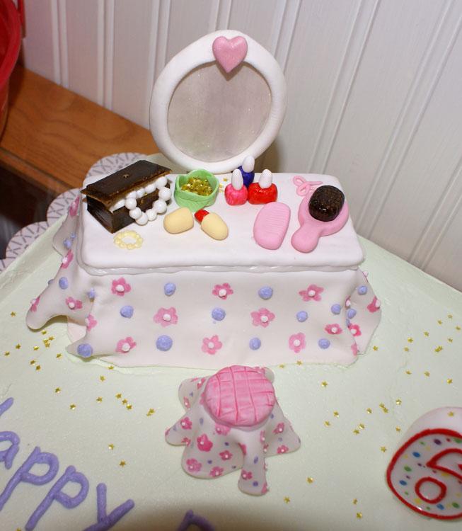 Spa Birthday Cake — Childrens Cakes